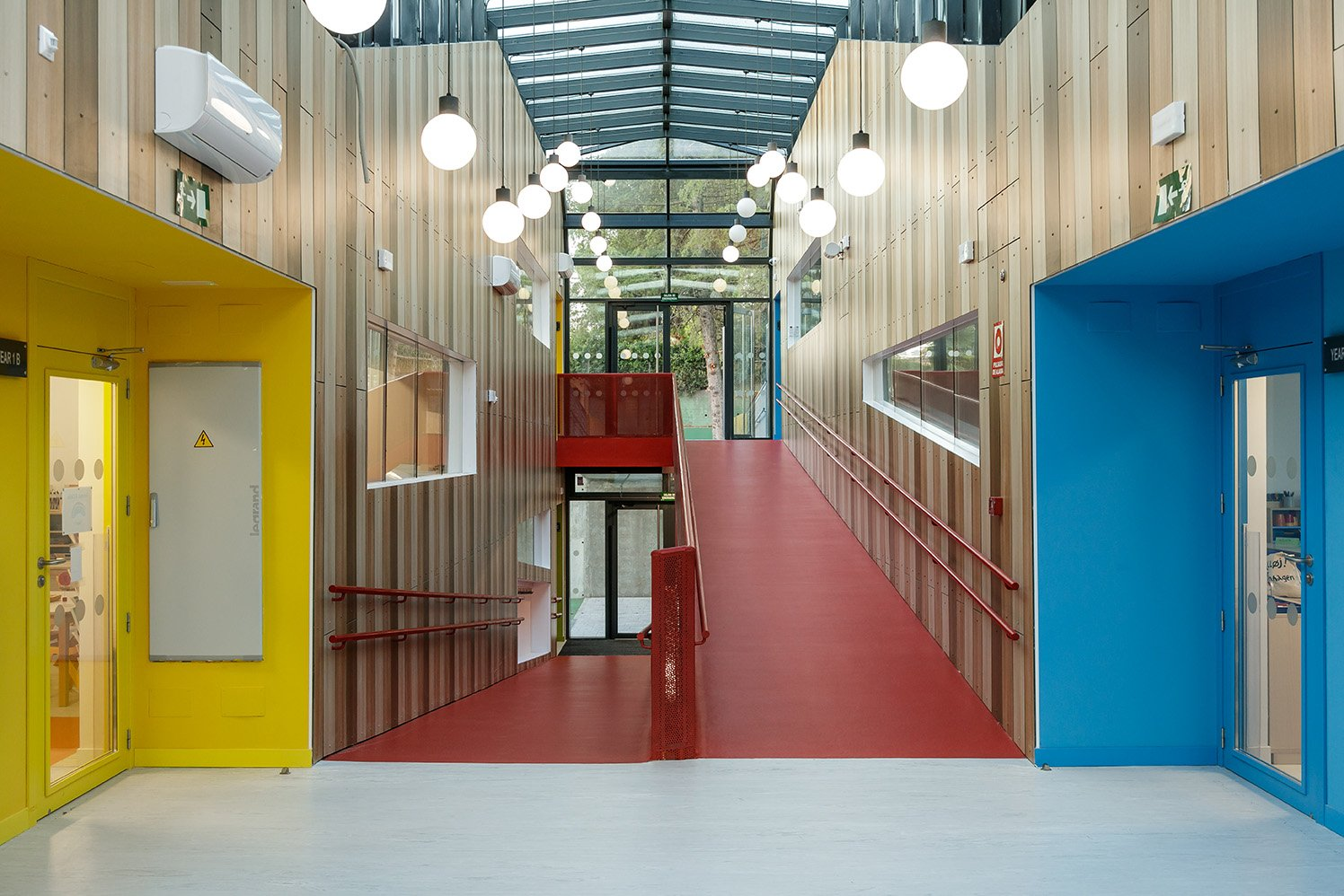 New infants building - TEMS - school madrid